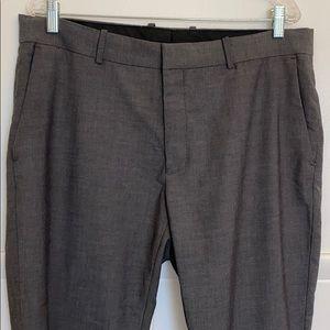 Men's H&M gray slacks